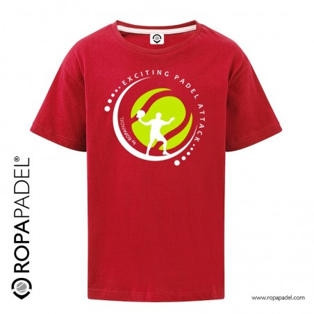 CAMISETA INFANTIL EXCITING ATTACK