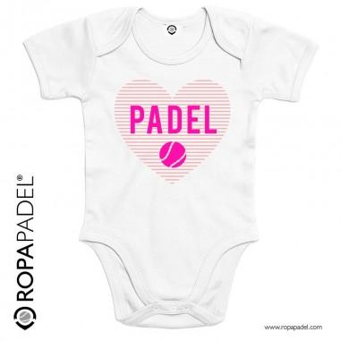 BODY BABY PADEL HEART