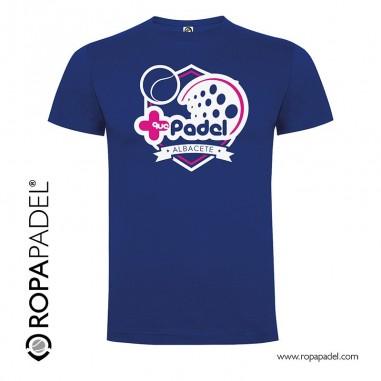 Camiseta +Que Padel Albacete