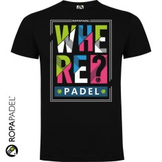 CAMISETA WHERE PADEL