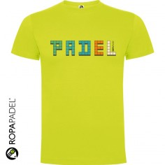 CAMISETA PADEL TEXT
