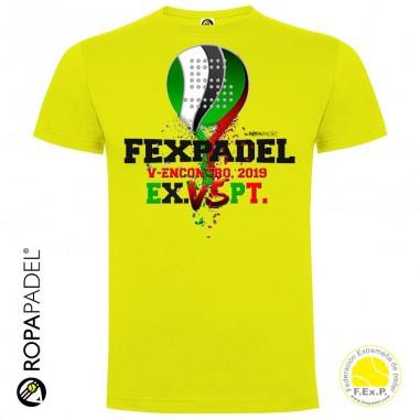 Camiseta Fexpadel V Encontro Extremadura vs Portugal