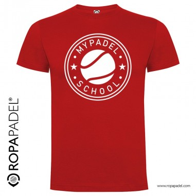 CAMISETA PADEL SCHOOL