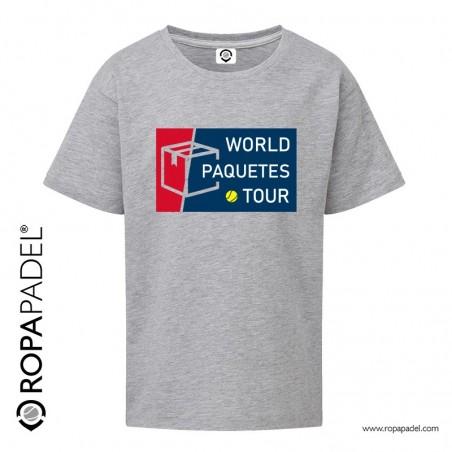 CAMISETA INFANTIL WORLD PAQUETES TOUR