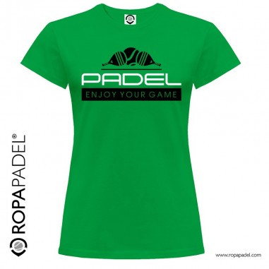 CAMISETA PADEL ENJOY