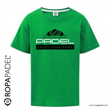CAMISETA INFANTIL PADEL ENJOY