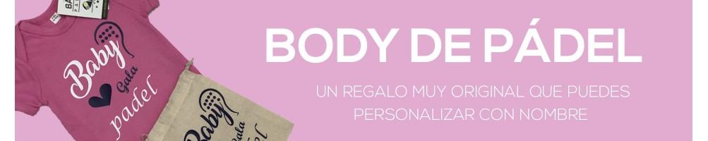 Body de Bebé de Pádel - Un regalo muy original a comprar en ROPAPADEL