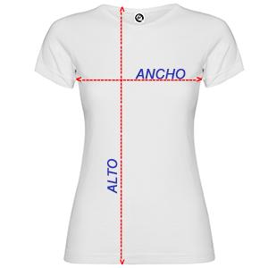 Medidas Camiseta Mujer